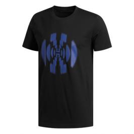 Pánské tričko adidas Harden Logo Tee Black