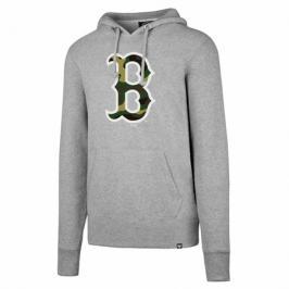 Pánská mikina s kapucí 47 Brand Headline Pullover Hood MLB Boston Red Sox