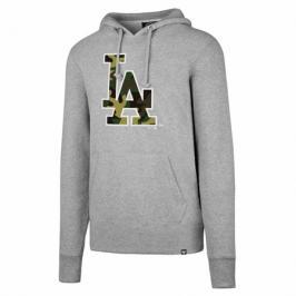 Pánská mikina s kapucí 47 Brand Headline Pullover Hood MLB Los Angeles Dodgers