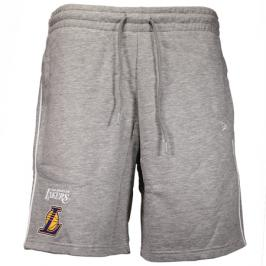 Šortky New Era Stripe Piping Short NBA Los Angeles Lakers Grey