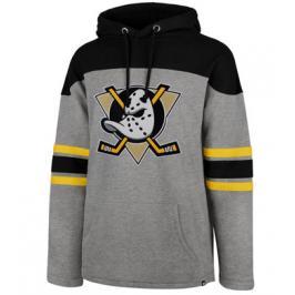 Pánská mikina s kapucí 47 Brand Huron Hood NHL Anaheim Ducks
