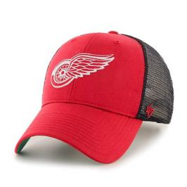 Kšiltovka 47 Brand Trucker Branson MVP NHL Detroit Red Wings Red/Black
