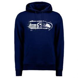 Pánská mikina s kapucí Fanatics Splatter NFL Seattle Seahawks