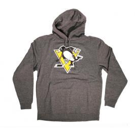 Pánská mikina s kapucí Levelwear Core Logo Hood NHL Pittsburgh Penguins