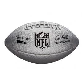Míč Wilson NFL Duke Metallic Edition OS FB Silver