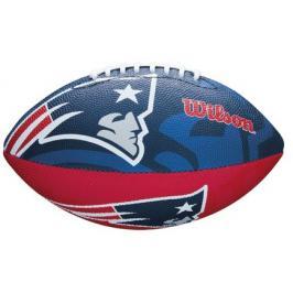 Míč Wilson NFL Team Logo FB New England Patriots JR