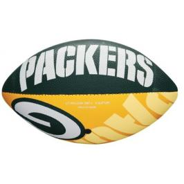 Míč Wilson NFL Team Logo FB Green Bay Packers JR