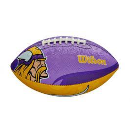 Míč Wilson NFL Team Logo FB Minnesota Vikings JR