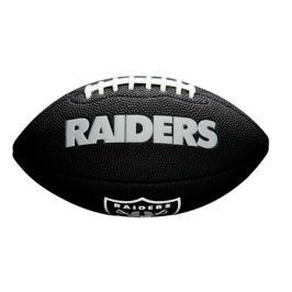 Míč Wilson NFL Mini Team Soft Touch FB BL Oakland Raiders