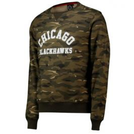 Pánská mikina Fanatics Digi Camo Crew Neck NHL Chicago Blackhawks