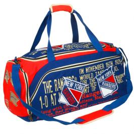 Sportovní taška Forever Collectibles Historical Art Duffel NHL New York Rangers