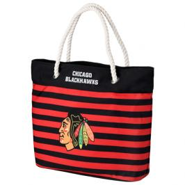Taška Forever Collectibles Nautical Stripe Tote Bag NHL Chicago Blackhawks