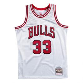 Dres Mitchell & Ness Platinum Swingman Jersey NBA Chicago Bulls Scottie Pippen 33