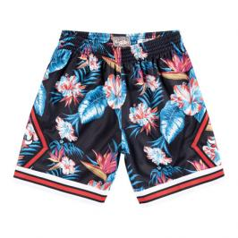 Šortky Mitchell & Ness Floral Swingman Shorts NBA Chicago Bulls