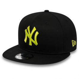 Kšiltovka New Era 9Fifty League Essential MLB New York Yankees Black/Cyber Green