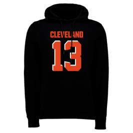 Pánská mikina s kapucí Fanatics NFL Cleveland Browns Odell Beckham Jr 13