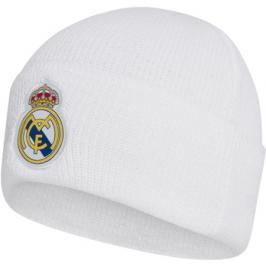 Zimní čepice adidas Woolie Real Madrid CF bílá