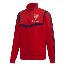 Pánská mikina na zip adidas Presentation Arsenal FC červená