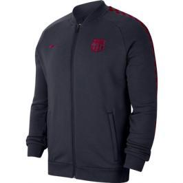 Pánská sportovní bunda Nike FC Barcelona tmavě modrá