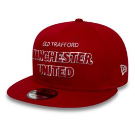Kšiltovka New Era 9Fifty Script Manchester United FC Scarlet