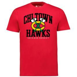 Pánské tričko Fanatics Iconic Hometown Graphic NHL Chicago Blackhawks