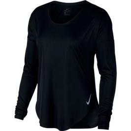 Dámské tričko Nike City Sleek Top LS černé
