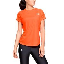 Dámské tričko Under Armour Speed Stride SS oranžové