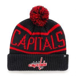 Zimní čepice 47 Brand Calgary Cuff Knit NHL Washington Capitals tmavě modrá