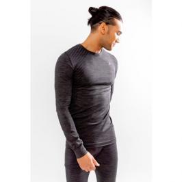 Pánské tričko Craft Fuseknit Comfort LS tmavě šedé