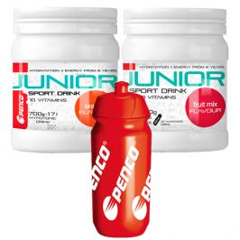 Iontový nápoj Penco SPORT DRINK 700 g Junior 1 + 1 + Bidon 500 ml Zdarma