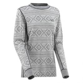 Dámské tričko Kari Traa Floke LS šedé