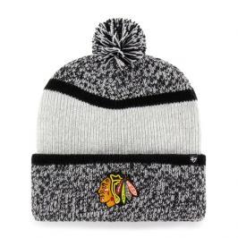 Zimní čepice 47 Brand Copeland Cuff Knit NHL Chicago Blackhawks