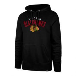 Pánská mikina s kapucí 47 Brand Outrush NHL Chicago Blackhawks