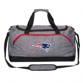 Sportovní taška Forever Heather Grey Duffel NFL New England Patriots