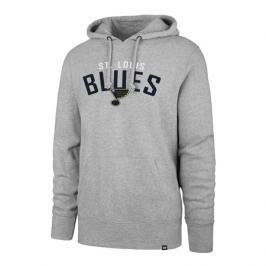 Pánská mikina s kapucí 47 Brand Outrush NHL St. Louis Blues