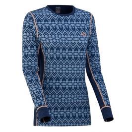 Dámské tričko Kari Traa Lune LS modré