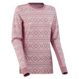 Dámské tričko Kari Traa Floke LS růžové