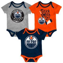 Dětské body Outerstuff NHL Edmonton Oilers 3 ks