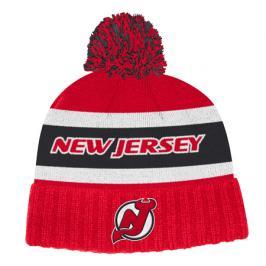 Zimní čepice adidas Culture Cuffed Knit Pom NHL New Jersey Devils