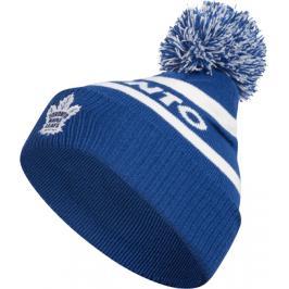 Zimní čepice adidas Culture Cuffed Knit Pom NHL Toronto Maple Leafs