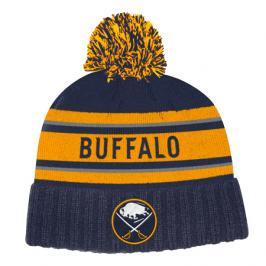 Zimní čepice adidas Culture Cuffed Knit Pom NHL Buffalo Sabres