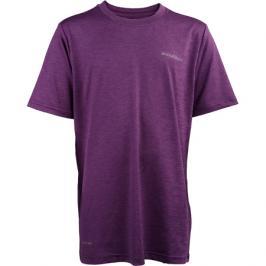 Dětské tričko Endurance Parbin Unisex Melange SS Tee fialové