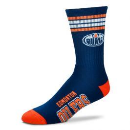 Ponožky FBF 4 Stripes Crew NHL Edmonton Oilers