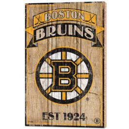 Nástěnná deska WinCraft Established NHL Boston Bruins