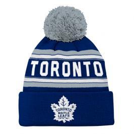 Dětská zimní čepice Jacquard Cuffed Knit With Pom NHL Toronto Maple Leafs