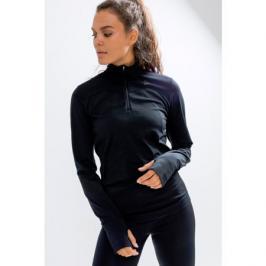 Dámské tričko Craft Fuseknit Comfort Zip černé