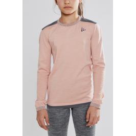 Dětské tričko Craft Fuseknit Comfort Junior růžové