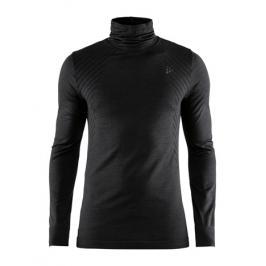 Pánské tričko Craft Fuseknit Comfort Turtleneck černé