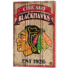 Nástěnná deska WinCraft Established NHL Chicago Blackhawks