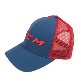 Kšiltovka CCM Mesh Back Trucker Ensign Blue